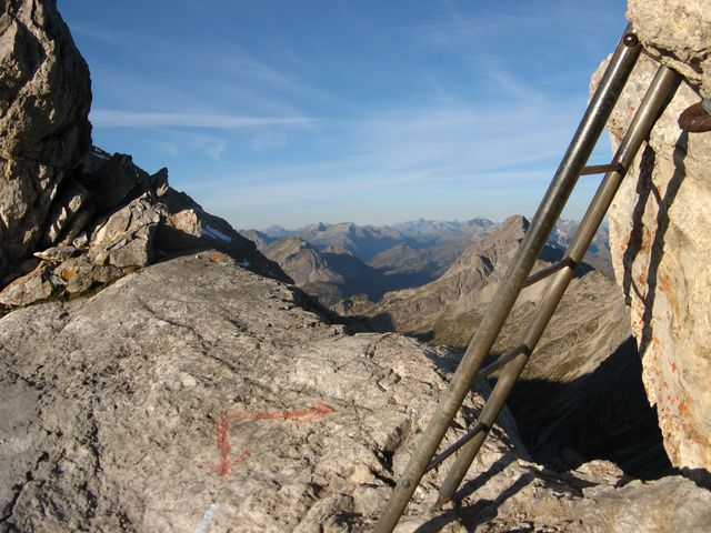 Klettersteigset Heilbronner Weg : De at oberstdorf mindelheimer klettersteig heilbronner weg