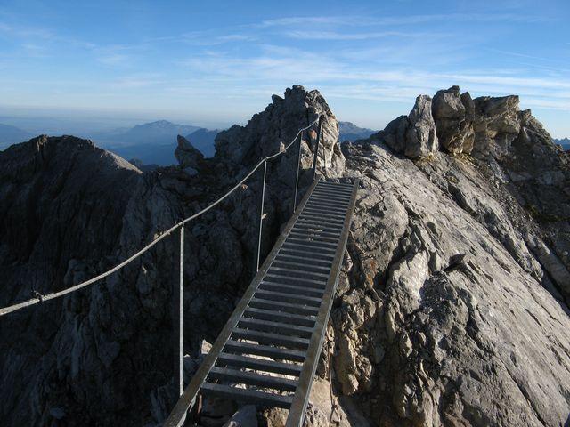 Normaler Klettergurt Für Klettersteig : De at oberstdorf mindelheimer klettersteig heilbronner weg