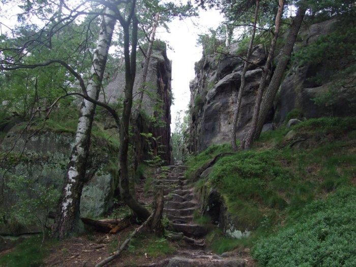 Klettersteig Jonsdorf : De ein klettersteig in sachsen der nonnensteig