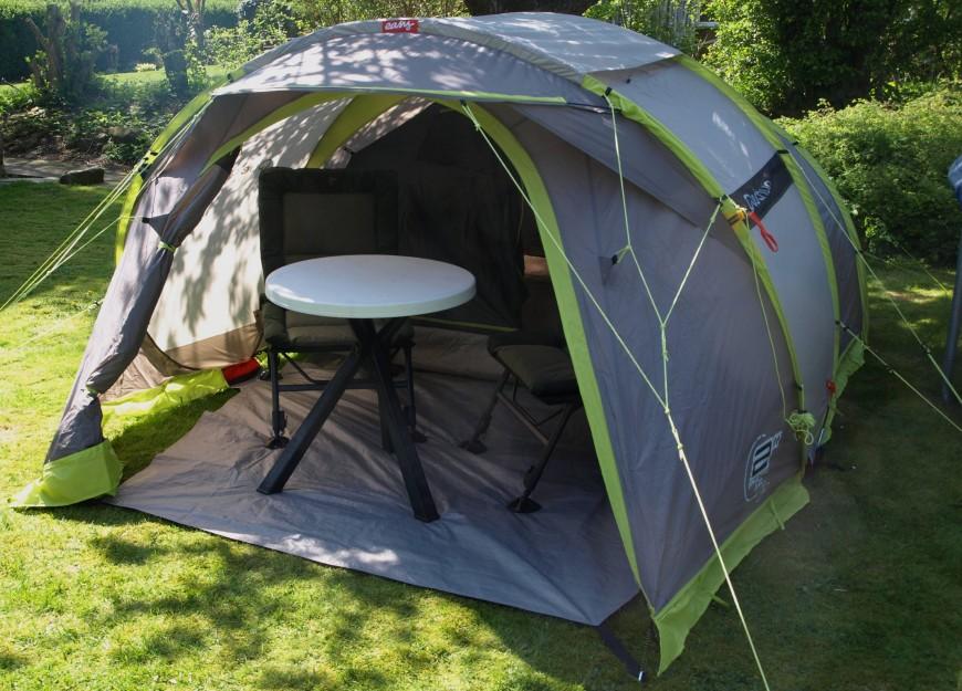 Zelt 9 Ah : Zelt für personen mit großer apsis bis