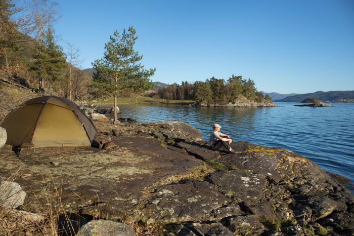 Valoya, Hoylandssundet, Hordaland, Norwegen