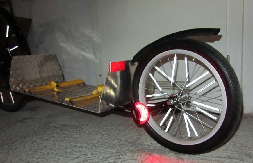 eigenbau fahrradanhänger