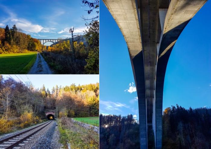 Verkehrstechnische Infrastruktur im Neckartal