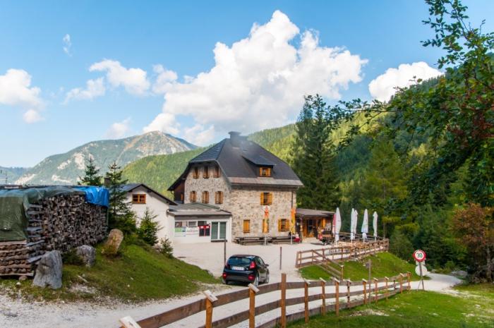 Das Koschuta Haus der Naturfreunde