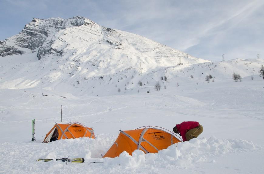 Zelt Für Pflanzen Im Winter : Welches zelt welcher schlafsack im winter für skitouren