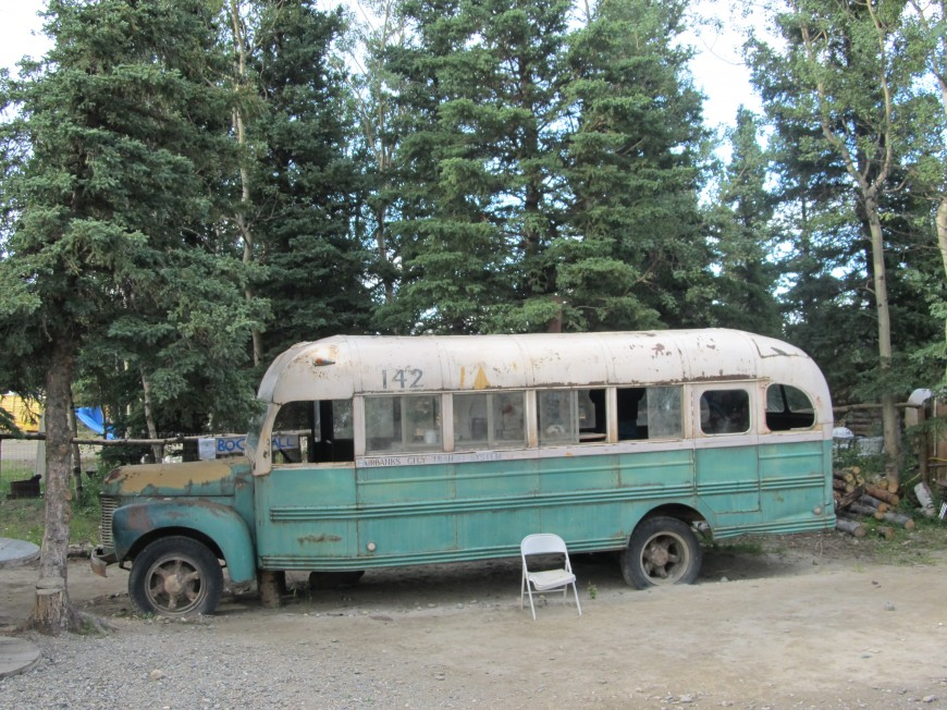 Christopher Mccandless Bus Tour