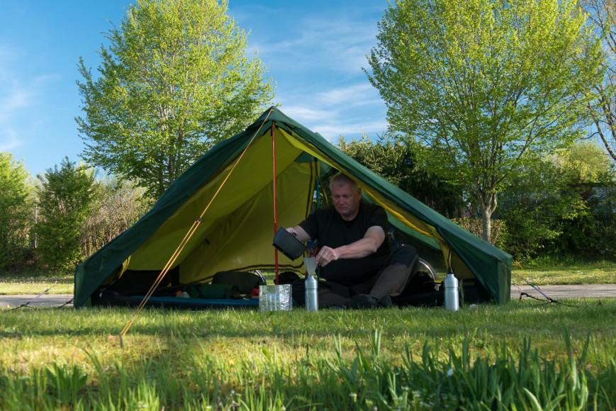 Endlich ein Zelt, das mich glücklich macht [Archiv] - outdoorseiten.net