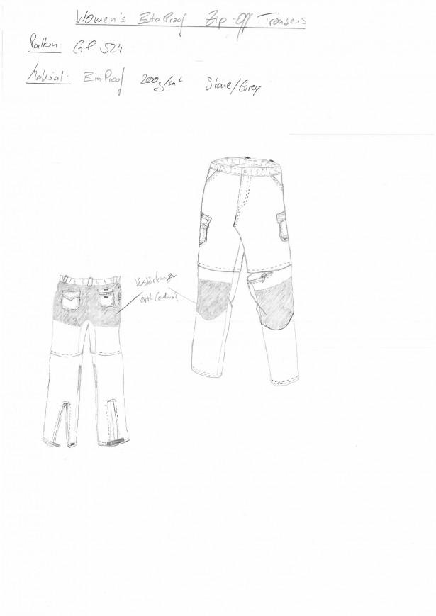 Women\'s (EtaProof) Zip-Off Trousers [Archiv] - outdoorseiten.net