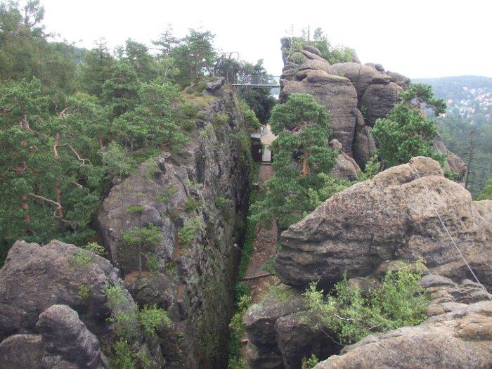 Klettersteig Zittauer Gebirge : De ein klettersteig in sachsen der nonnensteig