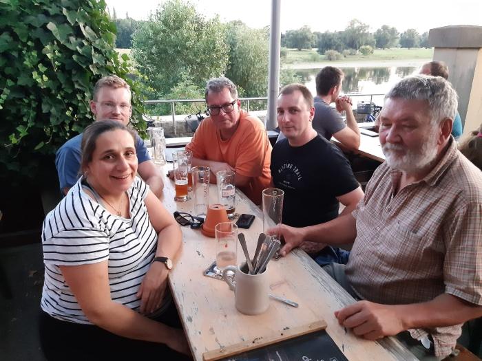 Sachsen Stammtisch, Fraktion Dresden im Watzke....