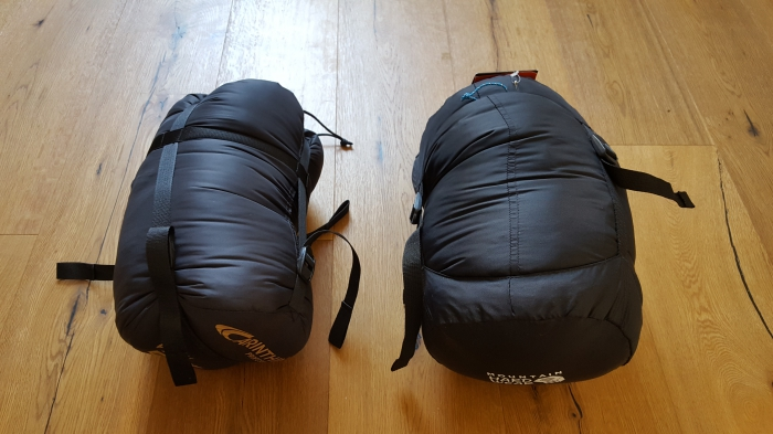 Carinthia G250 vs. Mountain Hardware Lamina -9