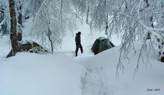wintertaugliches zelt